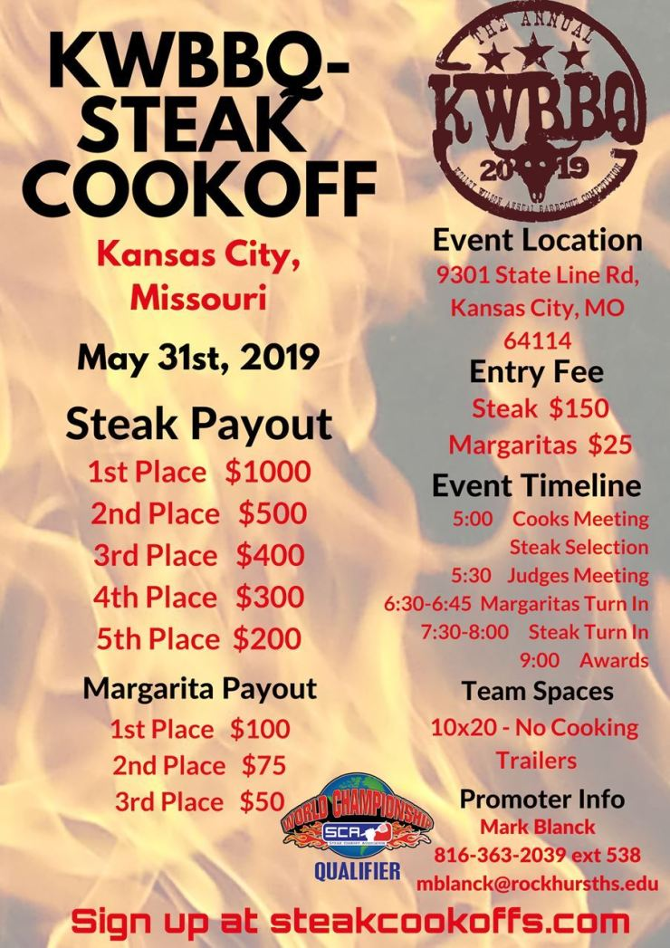 kwbbq sca flyer 2019